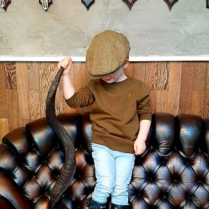 Kids kinderen hunting jacht sweater koedoe & co