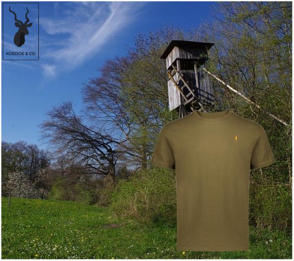 British Green Hunting T-Shirt Koedoe & Co