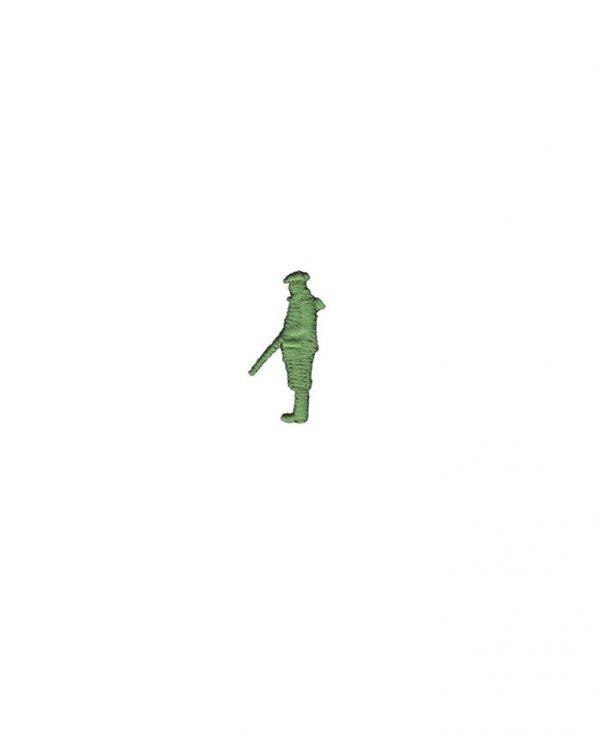 Borduursel Koedoe & Co Gun on Peg final green