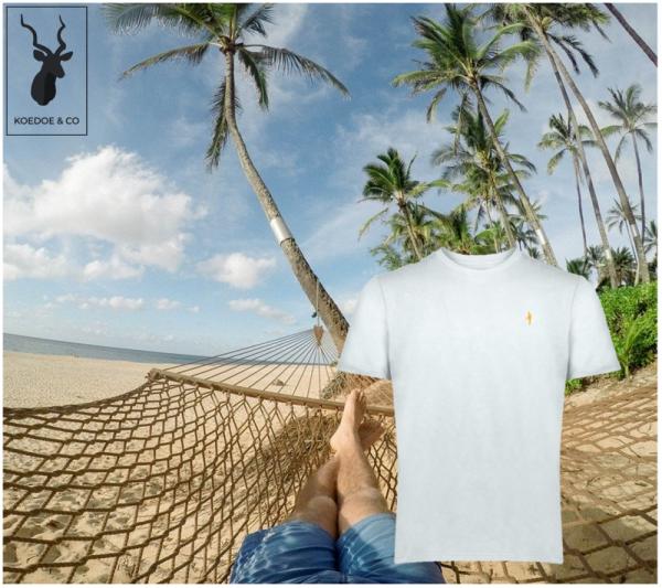Gun on the Beach Hunting T-Shirt Koedoe & Co