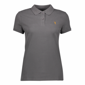 Koedoe & Co polo ladies antharacite front