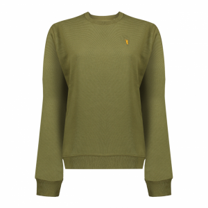 Koedoe & Co sweater ladies british green front