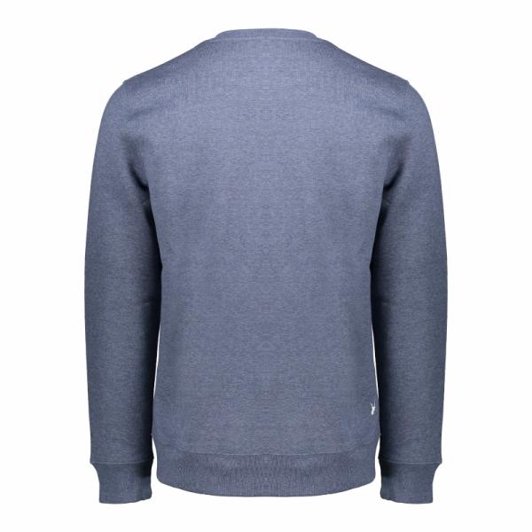 Koedoe & Co sweater men bright blue morning back