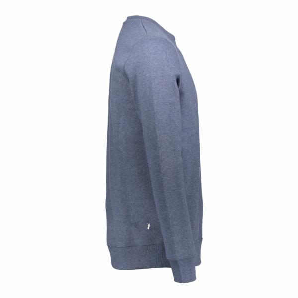 Koedoe & Co sweater men bright blue morning side