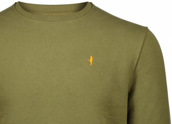 Koedoe & Co sweater men british green detail