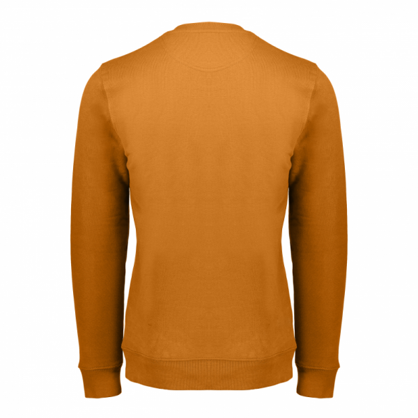 Koedoe & Co sweater men dark driven orange back