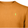 Koedoe & Co sweater men dark driven orange detail