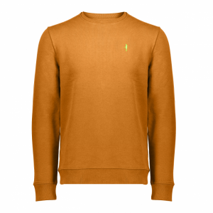 Koedoe & Co sweater men dark driven orange front
