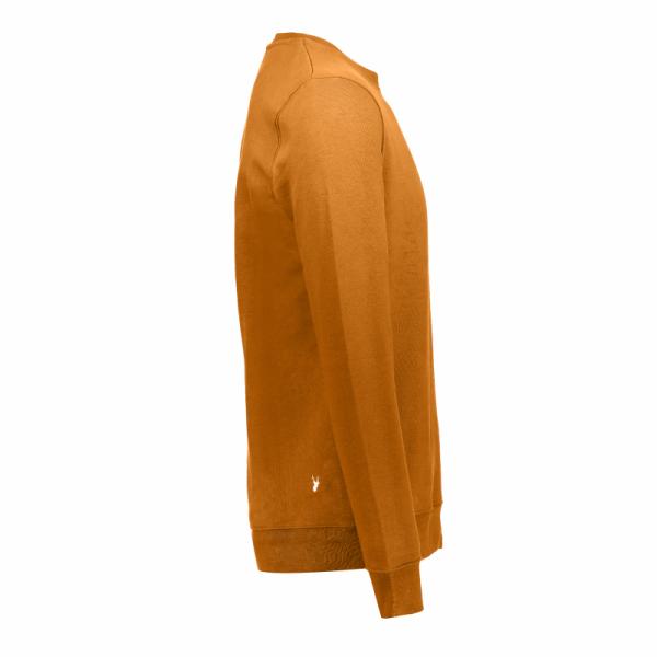 Koedoe & Co sweater men dark driven orange side