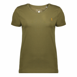 Koedoe & Co tshirt ladies british green front