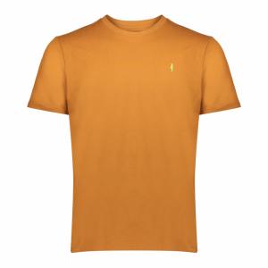 Koedoe & Co tshirt men dark driven orange front