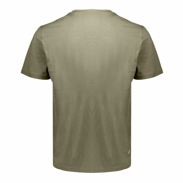 Koedoe & Co tshirt men grey shost back