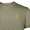 Koedoe & Co tshirt men grey shost detail