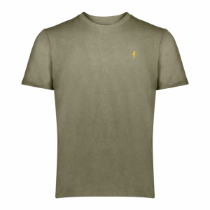 Koedoe & Co tshirt men grey shost front