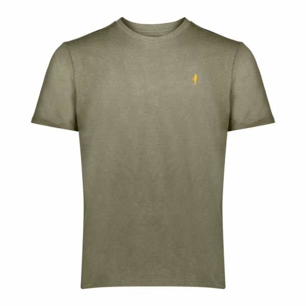 Koedoe & Co tshirt men grey shost front
