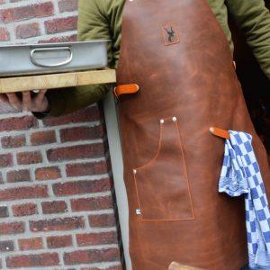 Leather Cooking BBQ Hunting Apron Koedoe & Co